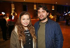 Julia Storm och Abdullah Mazreka