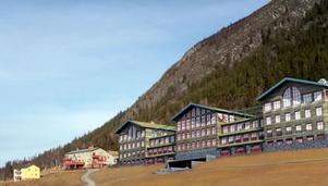 Det storstilade bygget mitti Funäsdalen är försenat och flera tilltänkta hyresgäster har hoppas av.