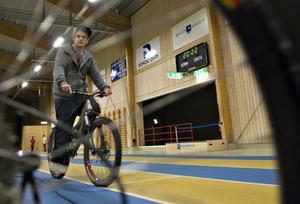 Mattias Herlyssen testade Bollnäs Cykelklubbs alla cyklar.