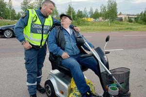 Marcus Nygren och  Härdalsyrans general Gunnar Hedin.