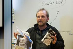 Anders Persson vill se en framtid för barnen.
