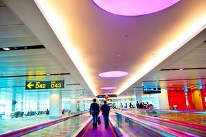 Singapore Changi International ligger i toppen.