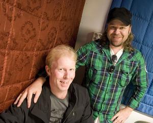 Göran Fagerli och Hans Birger Andersson är de två medlemmar i Fire & Ice som bor i Hudiksvall i dag. På lördag sammanstrålar de med sina gamla bandmedlemmar för ett 20-årsjubileum.