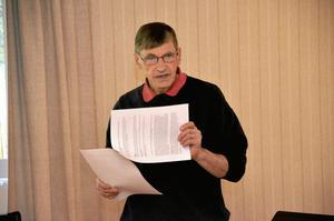 Cirkelledare. Kennert Allansson leder studiecirkeln i Hjortkvarn om torp och gårdar i Boo.