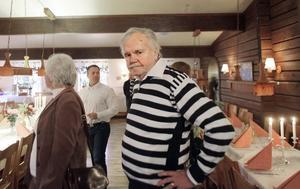 Grundaren KA Westerberg talade vid invigningen. Han arbetade på Hasselakollektivet i 37 år.