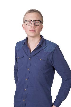 Jacob Hilding, chefredaktör på Arbetarbladet.