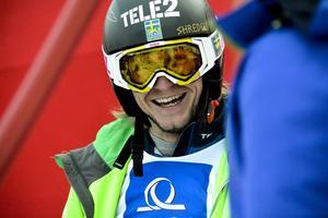 Vemdalsåkaren Viktor Andersson tog sin första pallplats.