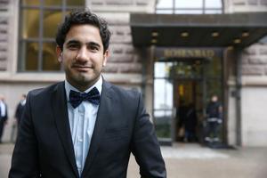 STOCKHOLM 20160526Civilminister Ardalan Shekarabi (S) öppnar nu på Stockholmsdörren. Jobben ska ut från huvudstaden.