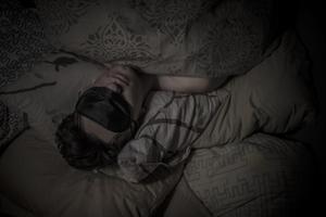 Sov ut dagen efter.