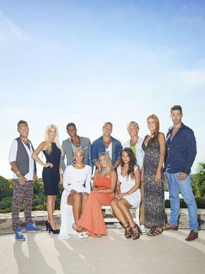 Övre raden från vänster: Jesper, Anna-Katrina, Samir, Niklas, Jeppe, Emilie och Björn. Nedre raden från vänster: Magdalena, Evelina, Aina.