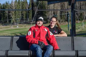 Viktor Funcke och Erica Sterner är laddade för en lång rekryteringsvecka.