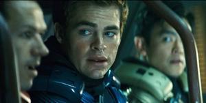 "KIRK. Chris Pine gör huvudrollen i ""Star trek"" som den unge James T Kirk, blivande befälhavare på USS Enterprise."