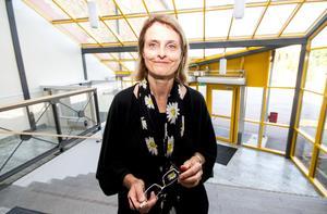 Birgitta Löwencrantz, rektor på Klockarbergsskolan, berättar att elva av 47 lärare är obehöriga.