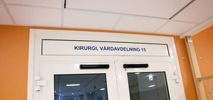 Gammal man fick ingen operation. Foto: Carl Lindblad/Arkiv