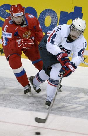 Mike Carman i junior-VM 2007. På bilden i duell med Rysslands Marat Kalimulin. BILD: Radek Petrasek/AP Photo