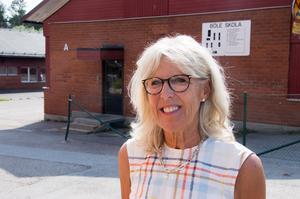 Efter 13 år som rektor på Böle skola går Ing-Britt Pousette i pension.