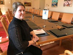 Ulrica Åsberg har ett extra öga på säkerheten i valet i höst.
