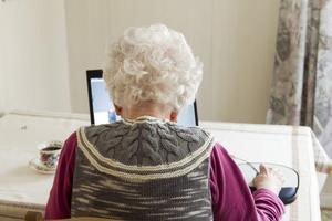 När patienten inte kan komma till sjukhuset, får sjukhusetkomma till patienten – digitalt, skriver debattförfattaren. Bilden har inget direkt samband med insändaren.