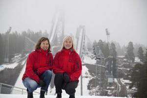 Malin Jonsson och Marie Sandberg-Nilsson poängterar att Barnens Skidspel är ett arrangemang med skidåkning på barnens villkor.