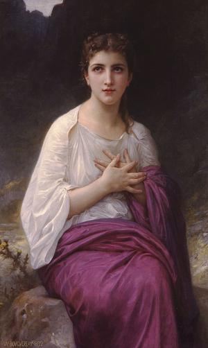 Hjältinnan Pysche. Målning av William-Adolphe Bouguereau från 1892.