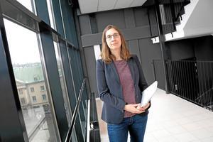 Louise Helleday är åklagare och förundersökningsledare i fallet kring det misstänkta våldtäktsförsöket på Oskarstorget.