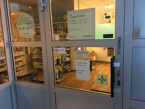 De som behövde läkemedel i Bredbyn under onsdagen får vänta till på torsdag.