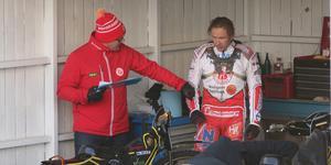 Tero Aarnio var frustrerad under matchen mot Lejonen. I hemmapremiären hoppas han på en lugnare kväll.