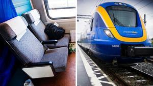 Skribenten ser ofta tomma tåg passera, och undrar till vilken nytta. Bild: Markus Dahlberg/TT / Cecilia Träff