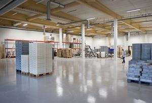 I vår ska Skövdeföretagets övriga maskiner flyttas in i lokalen och målet är att öka både på den svenska och utländska marknaden. Redan i dag går 50 procent av det man tillverkar på export.