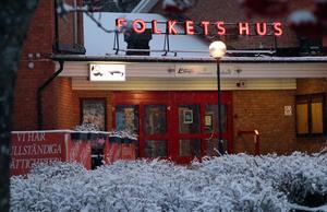 Forum Folkets hus i Ljungaverk är spelplats för Julemys och tomtehyss.