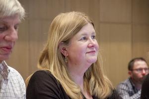 Anna-Lena Vestin(V) snuvade flera tunga poster av Bengt-Olov Renöfält under måndagskvällens fullmäktige.