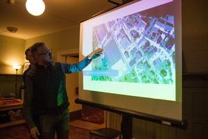 Den nya detaljplanen inkluderar också affären, hotellet och före detta järnhandeln i Bergsjö förklarar Hans-Åke Oxelhöjd.