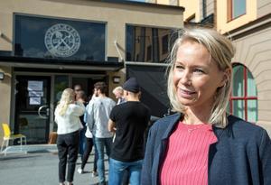 För Marie Björklund var äldreomsorgen och skolan viktiga frågor.