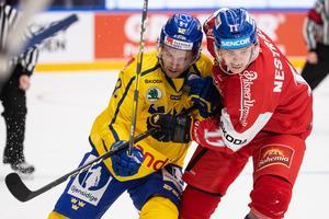 Sverige föll mot Tjeckien (1–3) i landskampen i Leksand under torsdagskvällen. Foto: Daniel Eriksson/Bildbyrån