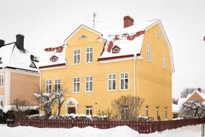 Foto: Utsikten. Villan på Sturegatan leder klicktoppen.