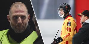 Andreas Bergwall, spelande tränare i AIK kommer ha Pavel Ryazantsev i sitt lag kommande säsong. FOTO: Jonna Igeland/Rikard Bäckman