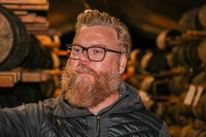 Patrik Björsjö, upplevelseansvarig på Mackmyra Whisky.