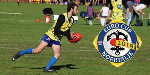 I helgen avgörs Euro Cup i australisk fotboll på Norrtälje sportcentrum. Foto: Ryan Tucker
