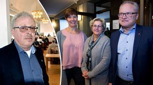 Den nya politiska ledningen för Region Västernorrland med Ingeborg Wiksten (L), Lena Asplund (M) och Glenn Nordlund (S) kan konstatera att de stora ekonomiska underskottens tid i regionen inte är förbi. Oppositionen med Erik Thunefors (SD) är oroad.