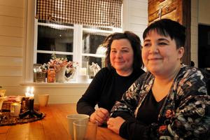 Marina och Elin har varit med från början i Hedemora kvinnojour och håller i både utbildningar i stödsamtal.