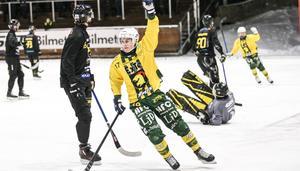 Caspher Ekström – tvåmålsskytt för Ljusdal mot Gripen.