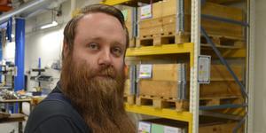 Markus Anttila är facklig för IF Metall på Dellner Couplers. Han är positiv till att EQT tar över som ägare: