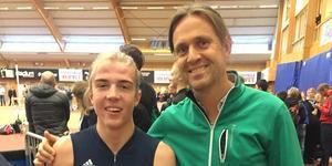 Mikael Kroon (till höger). Arkivfoto: Privat