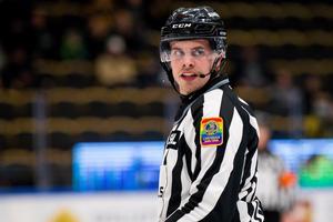 Tobias Nordlander under en SHL-match. Bild: Ola Westerberg/BILDBYRÅN