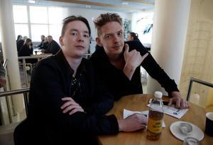 Danne Bajensson och Gibbe Bajensson.