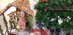 Det som kommer in från julmarknaden ska gå till behövande barn i Syrien.