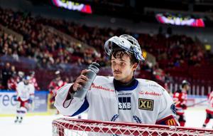 Meriterade Michal Zajkowski vaktar kassen för Örnsköldsvik.