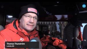 Thomas Thunström delger sina tankar om SM så här långt. Bild: Mittmedia.