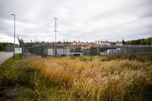 Mordförsöket inträffade här inne på Anstalten Gävle.