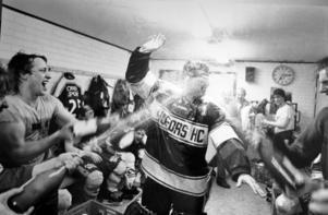 1985 hade Hofors HC anledning att fira. Foto: Lasse Halvarsson